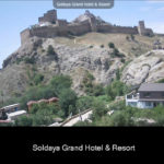 Онлайн веб-камера на Судакскую крепость